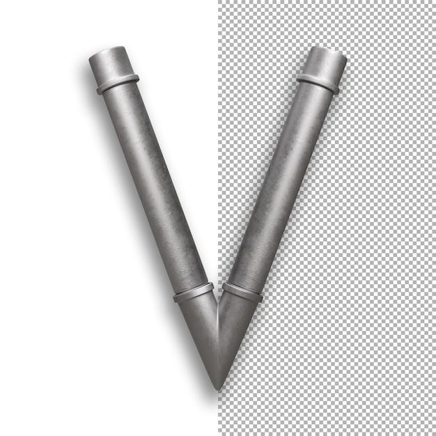 Metallpfeife, alphabet v. Premium PSD