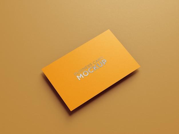 Minimalistisches visitenkartenmodell Premium PSD