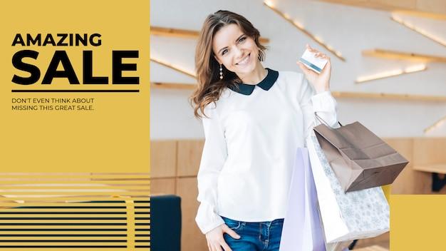 Mode verkauf banner vorlage Kostenlosen PSD