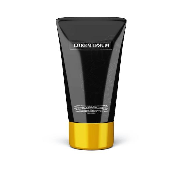 Modell für kosmetik und schönheitsprodukte Premium PSD