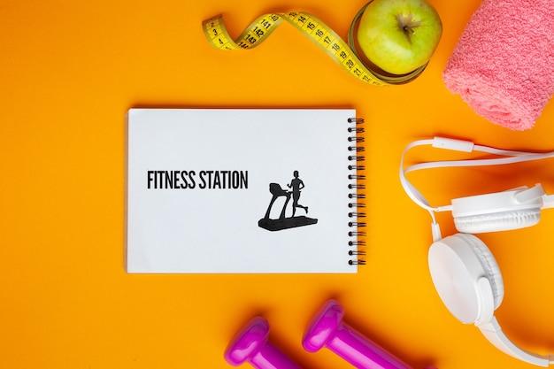 Modell mit fitnessgeräten Kostenlosen PSD