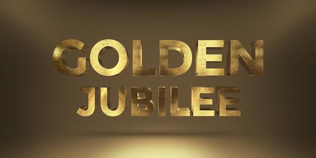 Moderner goldener text-art-effekt Premium PSD