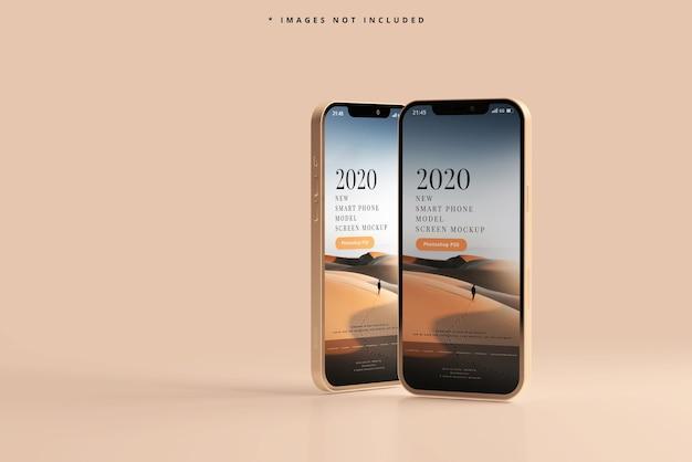 Modernes smartphone-modell Kostenlosen PSD
