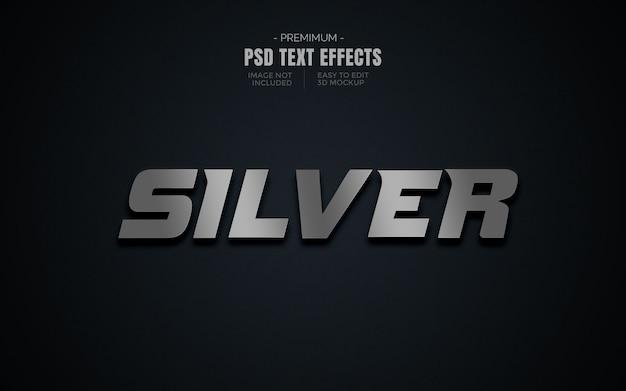 Nächster text 3d-effektmodell Premium PSD
