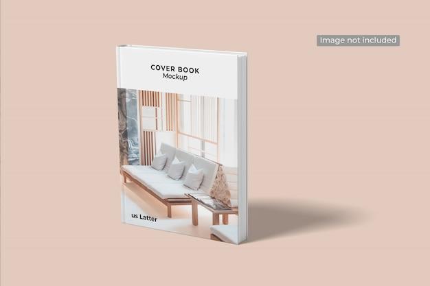 Nahaufnahme auf cover book mockup Premium PSD