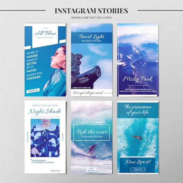 Natur instagram story vorlage Premium PSD
