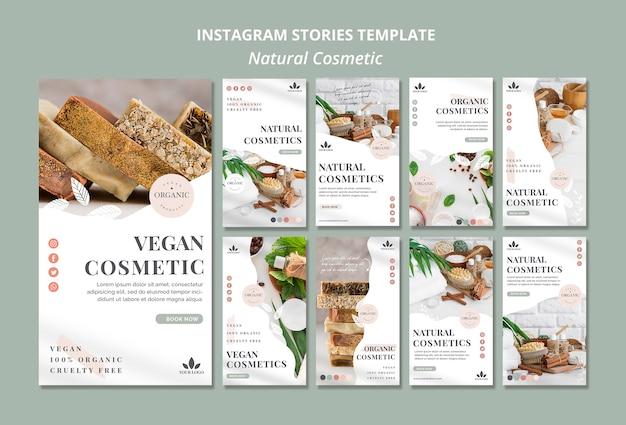 Naturkosmetik instagram geschichten Kostenlosen PSD