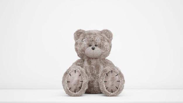 Nettes teddybärspielzeug Kostenlosen PSD