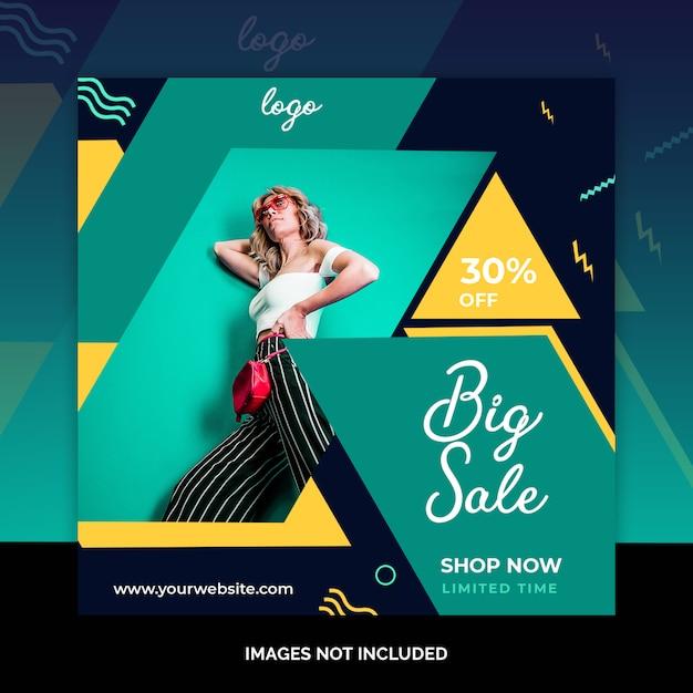 Neues ankunftsweb-social media-banner Premium PSD