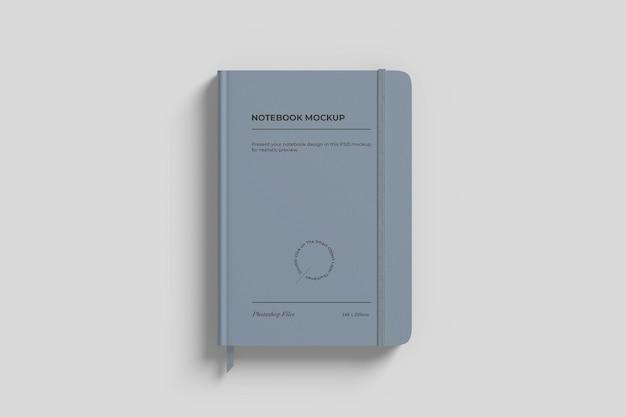 Notebook-modell mit farbband Kostenlosen PSD