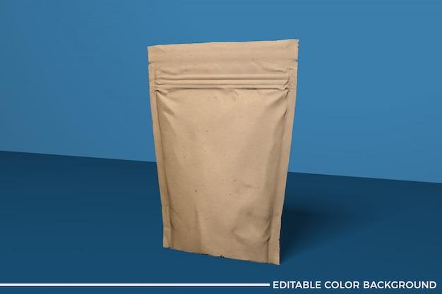 Papiernahrungsmittelbeutelmodell Premium PSD