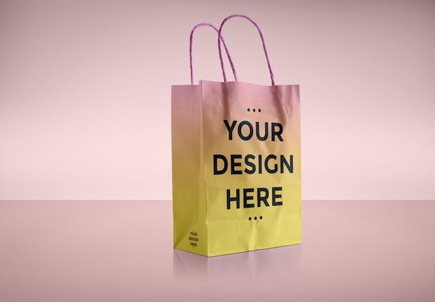 Papiertüte verpackungsmodell Premium PSD