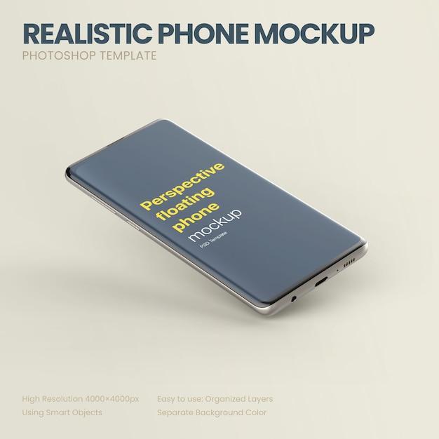 Perspektivisches telefonmodell Kostenlosen PSD