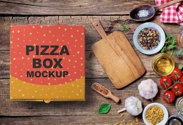 Pizza-box-modell Premium PSD