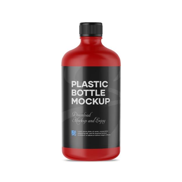Plastikflaschenmodell Premium PSD