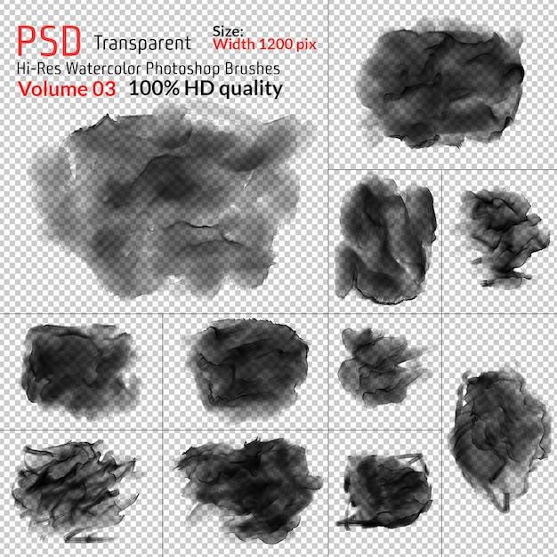 Png aquarellpinsel Premium PSD