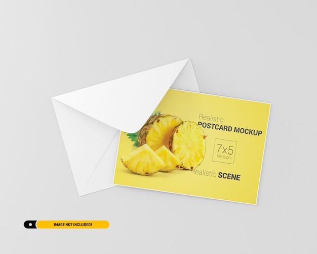 Postkarten-modell Premium PSD