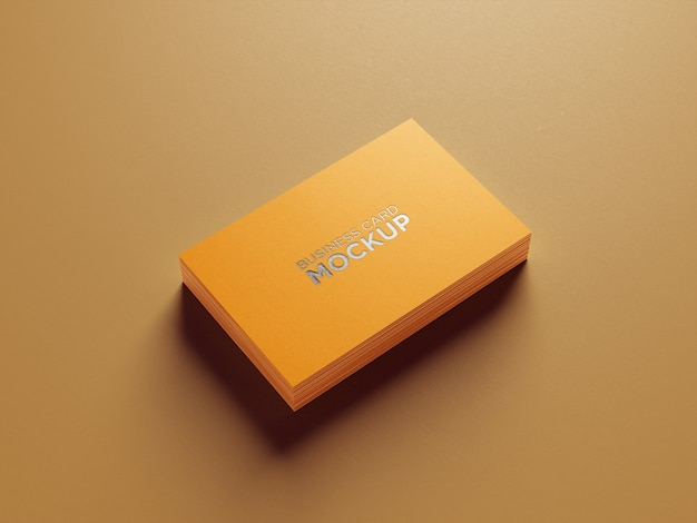 Professionelles visitenkartenmodell Premium PSD