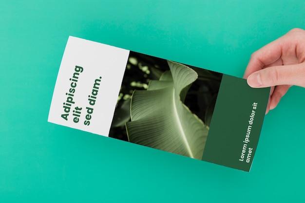Prospektmodell der broschüre Kostenlosen PSD