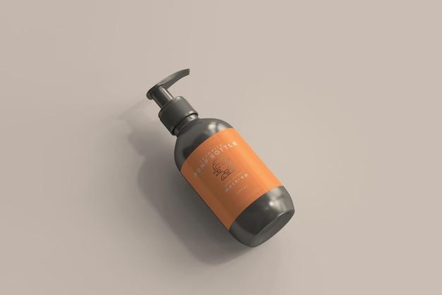 Pumpflaschenmodell Kostenlosen PSD