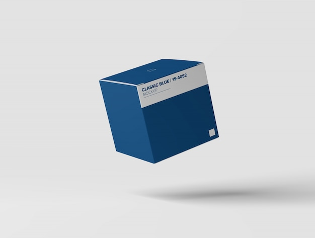 Quadratisches kastenmodell Premium PSD