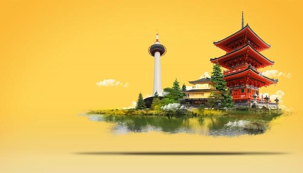 Reise japan land der aufgehenden sonne Premium PSD