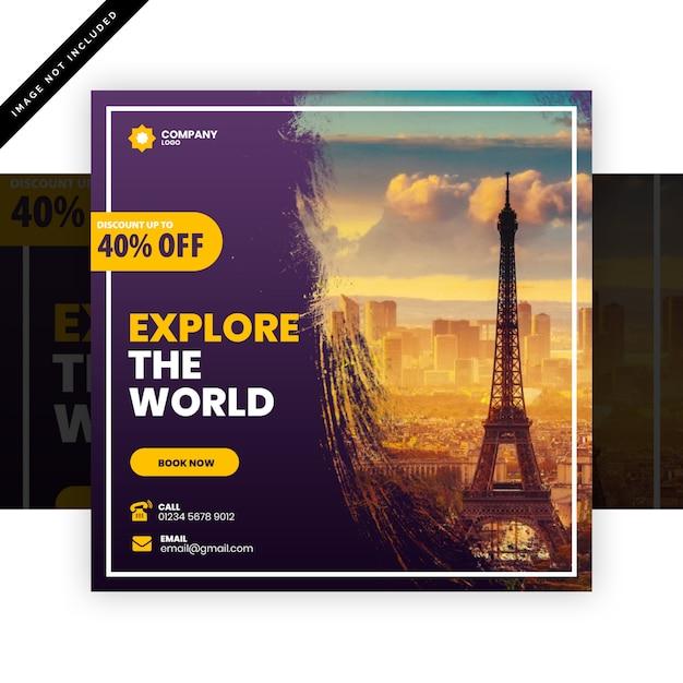Reisepost Premium PSD