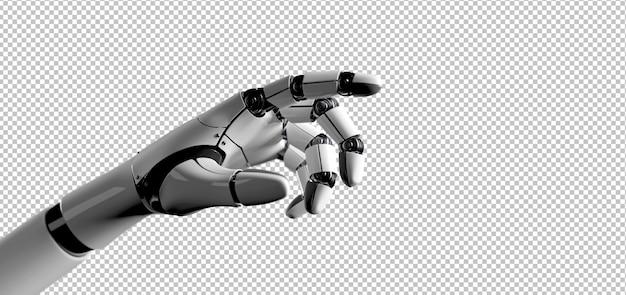 Roboter cyborg hand Premium PSD