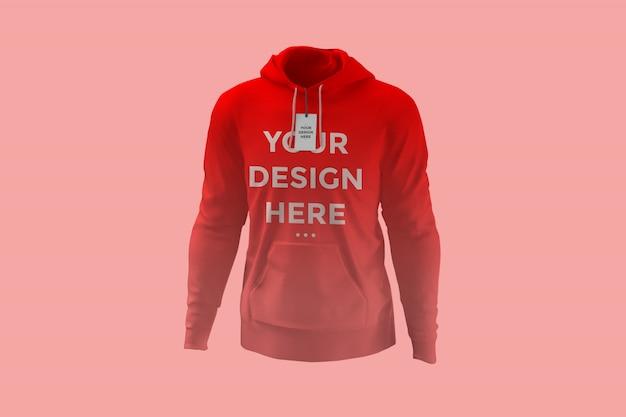 Schaufenster hoodie mockup Premium PSD