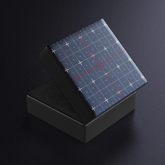 Schmuckschatulle psd modell für ihr design Premium PSD