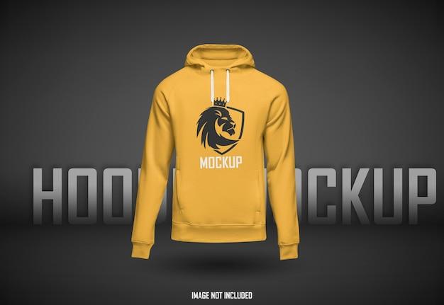 Schönes hoodie-modell isoliert Premium PSD