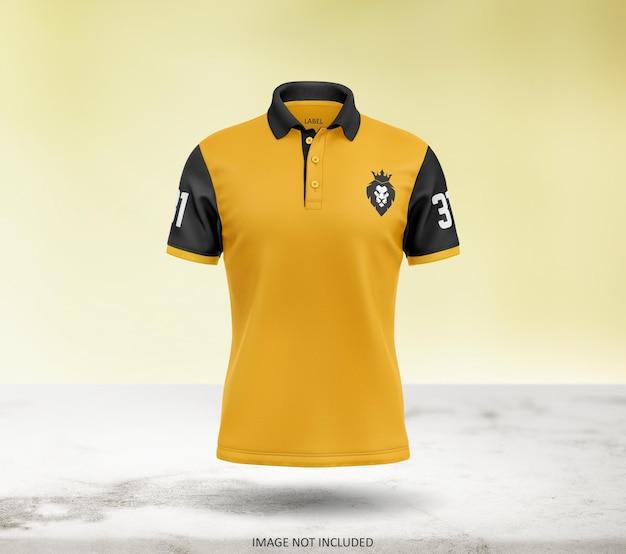 Schönes polo t-shirt mockup design Premium PSD