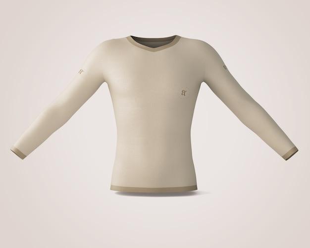 Shirt-modell Kostenlosen PSD