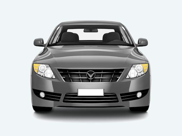 Silber limousine Kostenlosen PSD
