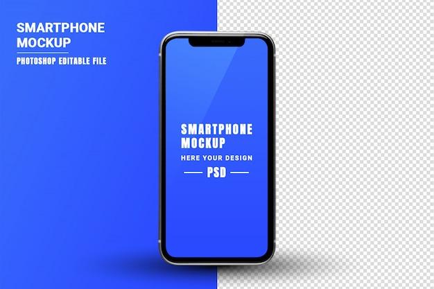 Smartphone-bildschirmmodell Premium PSD