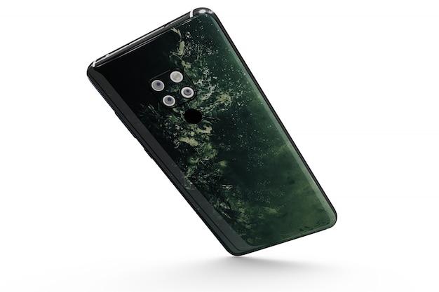 Smartphone-hautmodell isoliert Kostenlosen PSD