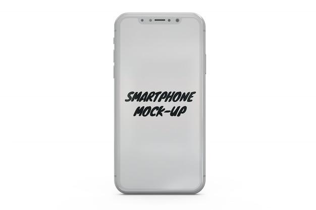 Smartphone-modell isoliert Kostenlosen PSD