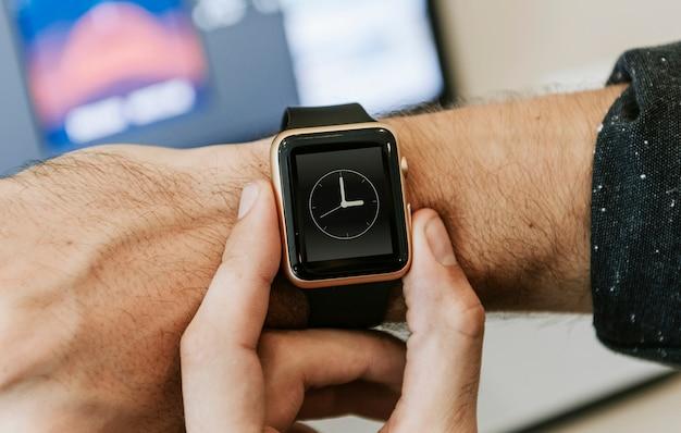 Smartwatch-modell Kostenlosen PSD