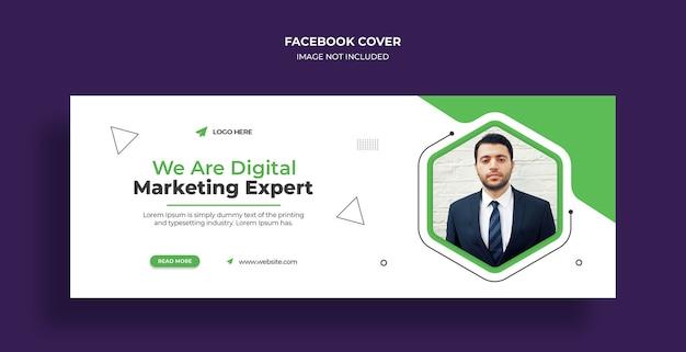 Social-marketing-agentur social media web-banner oder quadratische flyer-vorlage Premium PSD