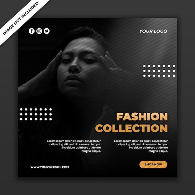 Social media post vorlage instagram fashion sale kollektion Premium PSD