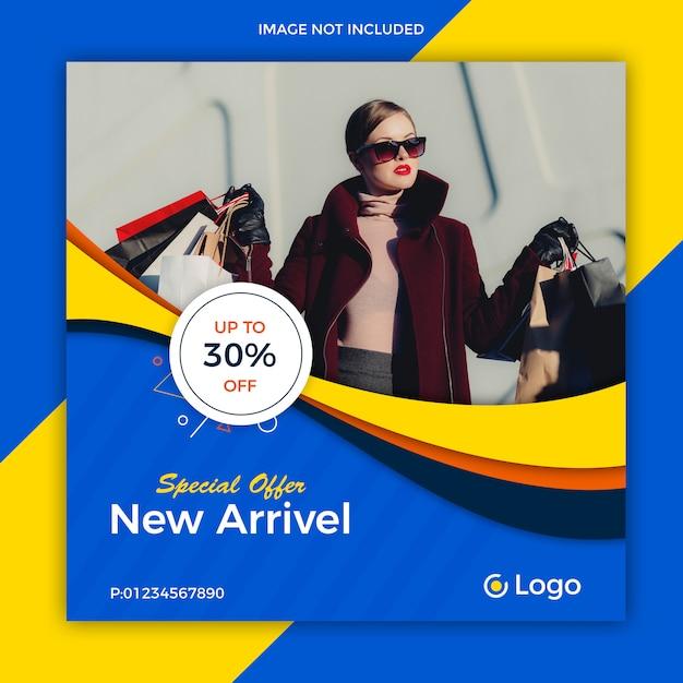Social-media-post-vorlage Premium PSD