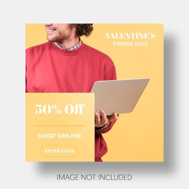 Sozialschablonenverkauf valentinstag Kostenlosen PSD