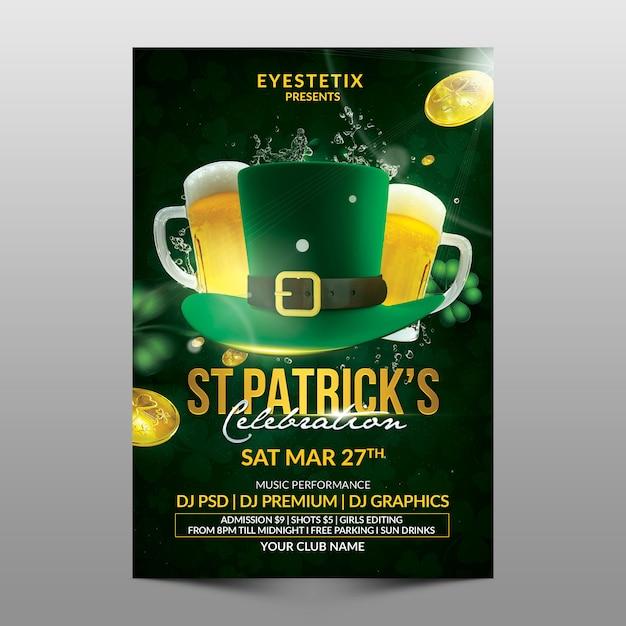St patrick's feier Premium PSD