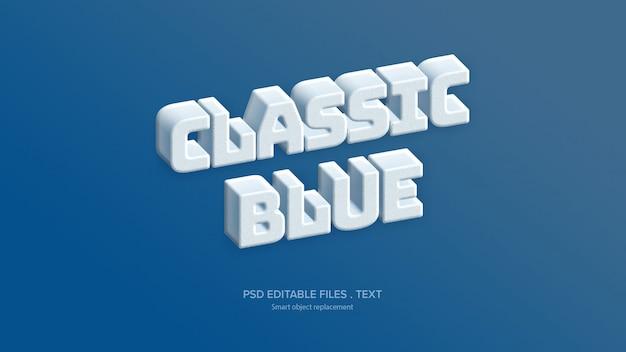 Stileffekt des textes 3d des designs Premium PSD