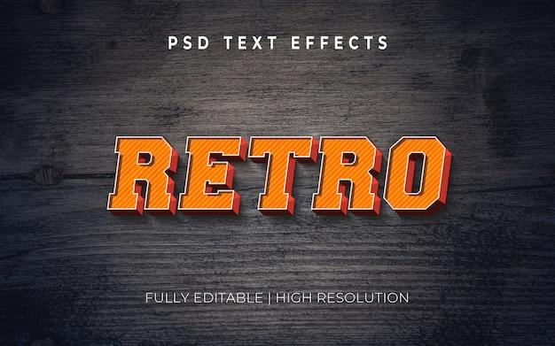 Stileffekt des textes 3d Premium PSD