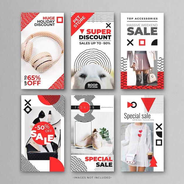 Super sales instragram story-vorlage Premium PSD