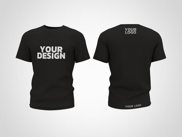 T-shirt mockup 3d rendering design Premium PSD