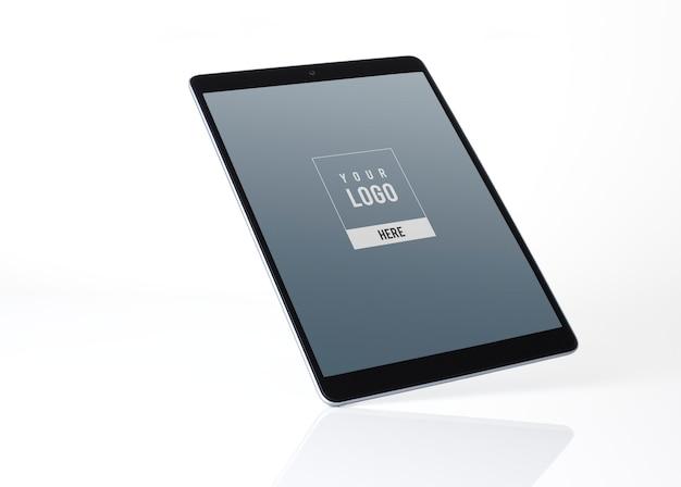 Tablet-mockup-design im vollbildmodus Kostenlosen PSD