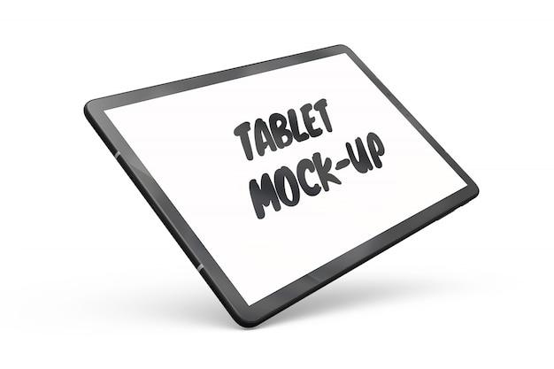 Tablet-modell isoliert Kostenlosen PSD