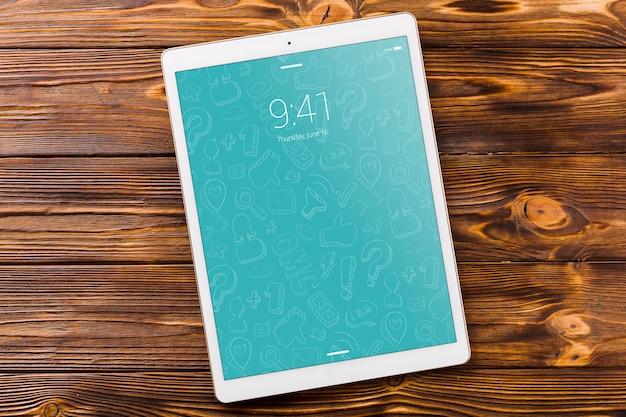 Tablet oder ebook lesermodell mit literaturkonzept Kostenlosen PSD